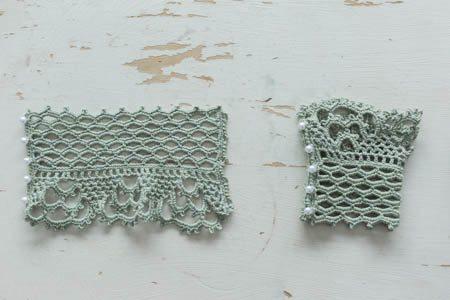 Lace Cuffs Flat