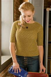 Corcoran Pullover Patty Lyons IW Knits Spring 2015