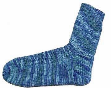 Basic Knit Sock Pattern : Basic Sock Pattern, As Seen on Episode 312 - Interweave