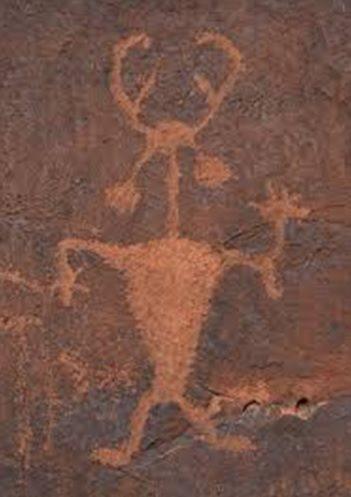 shaman petroglyph