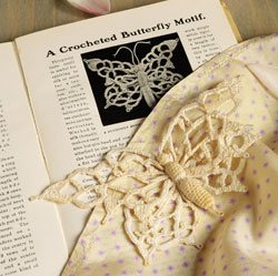 Crocheted Lace Butterfly