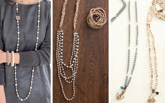 wrap bracelets that convert to necklaces