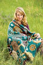 Crochet Motif Afghan—The Moorish Mosaic Afghan