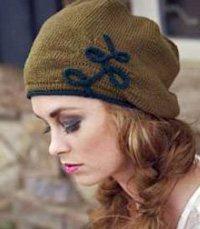 I-cord knit embellishment