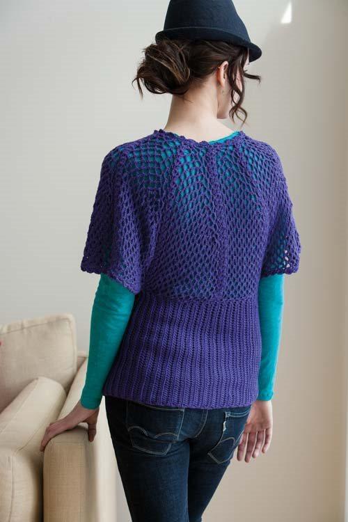 Blueprint Crochet Sweaters: Crochet Dolman Sweater
