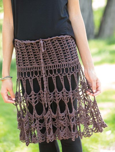Colorful Crochet Lace: Crochet Lace Skirt