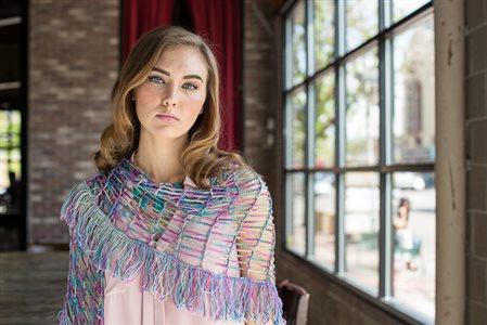 Fission Shawl Front