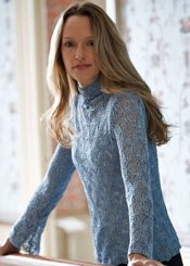 knit lace pullover pattern