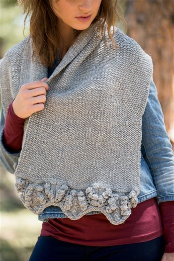 Rock Quarry Stole, Teresa Gregorio, Interweave Knits Fall 2014