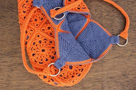 Delia Bag: Motif Crochet Bag