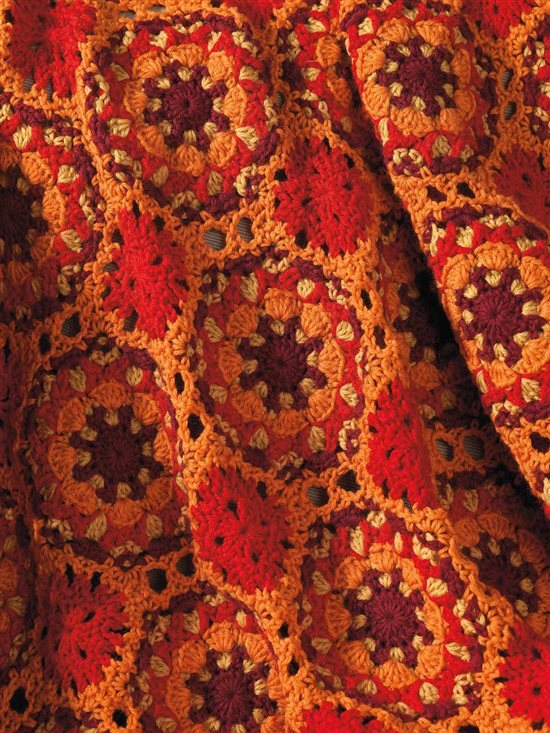 Unexpected Afghans: Crochet Motif Afghan