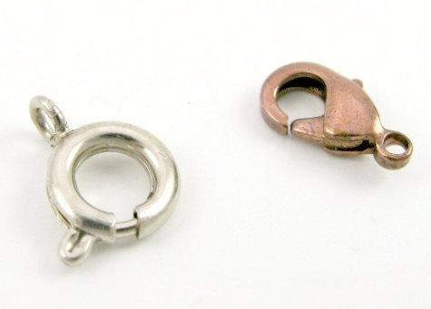 spring ring clasp, lobster clasp