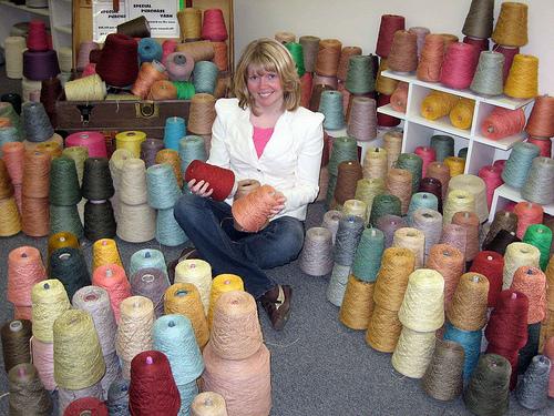 Me and yarn