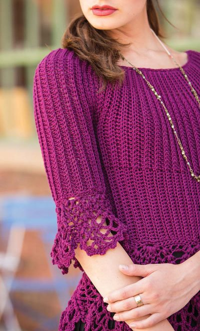 Colorful Crochet Lace: Crochet Top