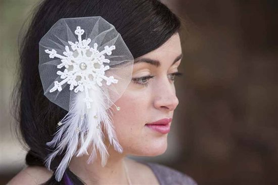 Crochet Ever After: Snowflake Crochet Fascinator