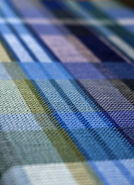Using a variety of weft colors when weaving turned taquete towels allows you to create a varied, but coordinating, set of handwoven towels.