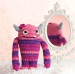 Crochet Amigurumi Girl Monster