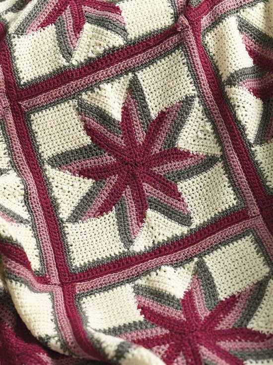 Unexpected Afghans: Crochet Afghan
