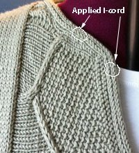How to make i-cord edging