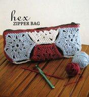 hex zipper bag