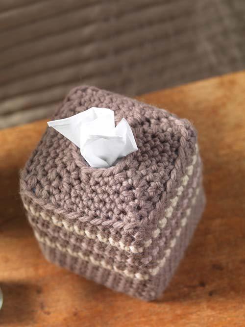 Crochet Cozy for Tissue Box