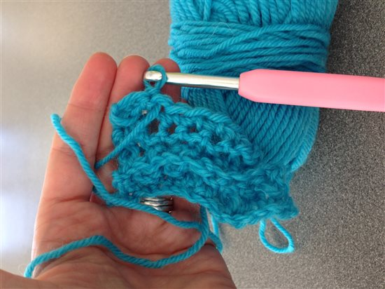 Single Crochet Swatch