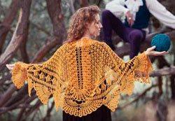 Crochet Shawl: Icarus Shawl, Tracey McCorkle
