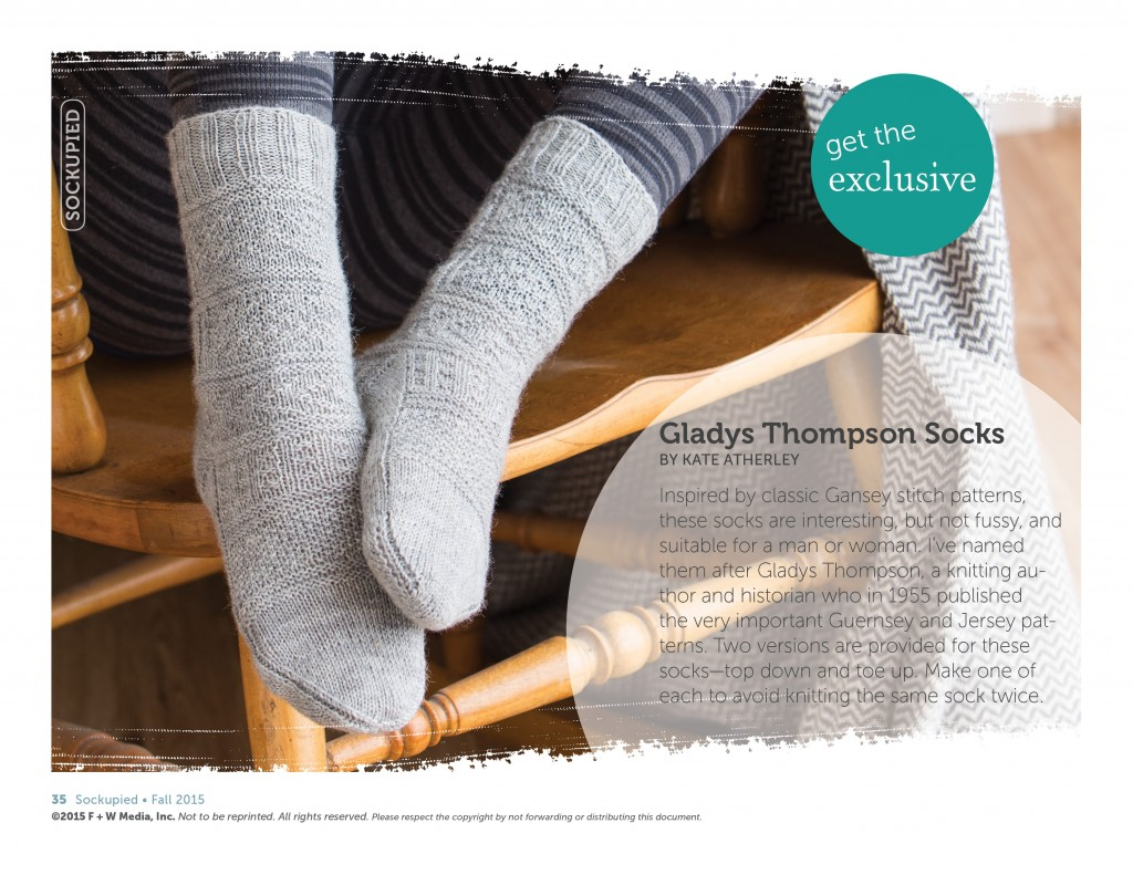 Knit socks the right way with the simple knit and purl stitches that make up gansey patterns to create very cozy socks with unique designs.