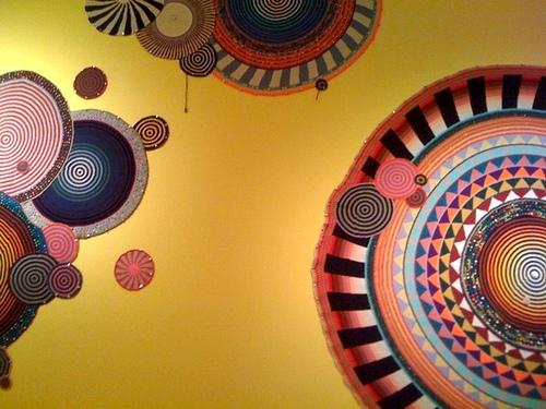 Xenobia Bailey at the Kohler Arts Center