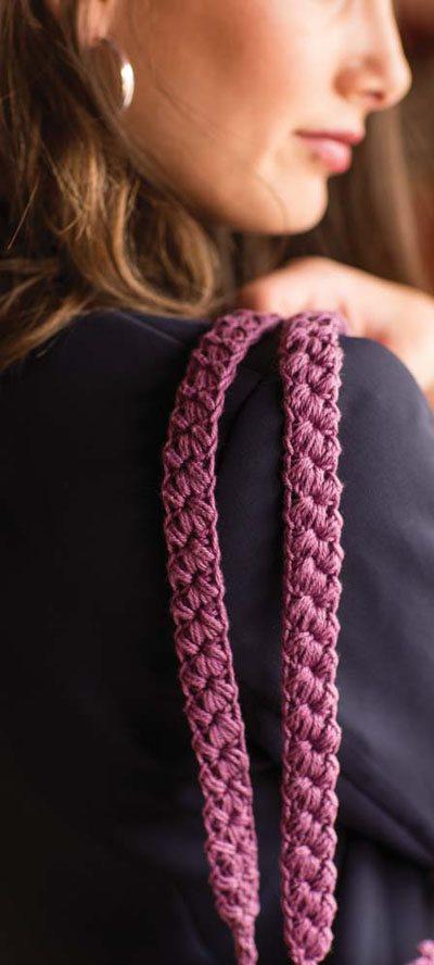 Colorful Crochet Lace: Crochet Bag Straps