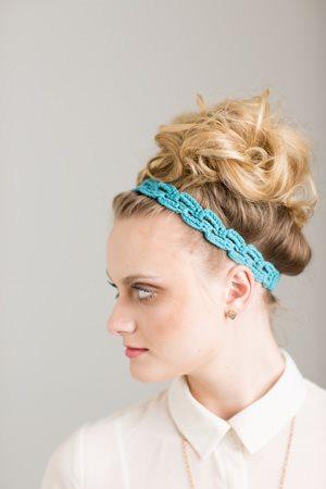 Rampant Arch Headband Side