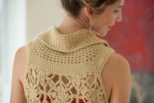 Blueprint Crochet Sweaters: Crochet Motif Top