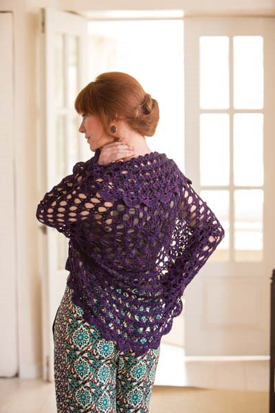 Crochet So Lovely: Lace Crochet Shrug