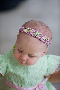 Flora Baby Headband by Ellen Gormley