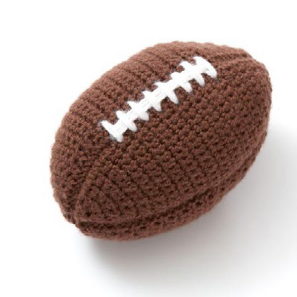 football crochet pattern