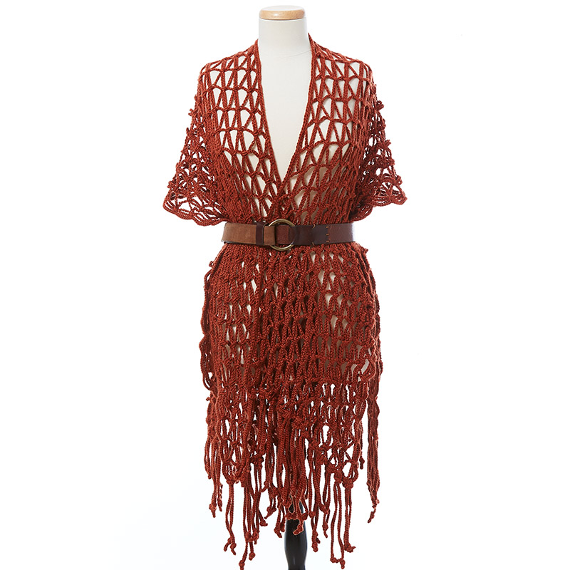 crochet ruana