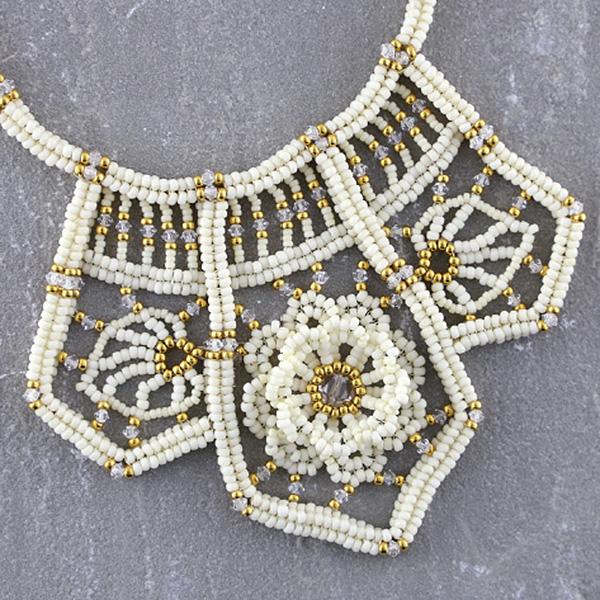 fringe bead weaving sample