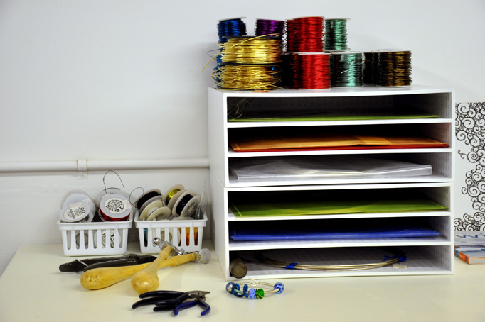 Studio Sunday: Quick Ways to Organize & Store Your Wire
