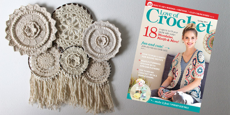 WWDD: 3 Mandalas from <em>Love of Crochet</em> for your Crochet Home