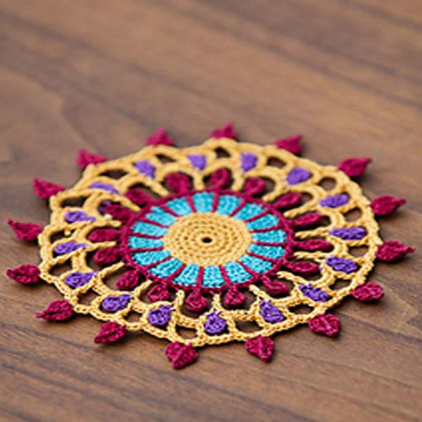 The Mehndi Coaster mandala is an excellent project for a smaller mandala. To make your wall hanging really pop youu0027ll want to create mandalas in a range of ... & WWDD: 8 Mandala Patterns I Used for My DIY Crochet Mandala Wall ...