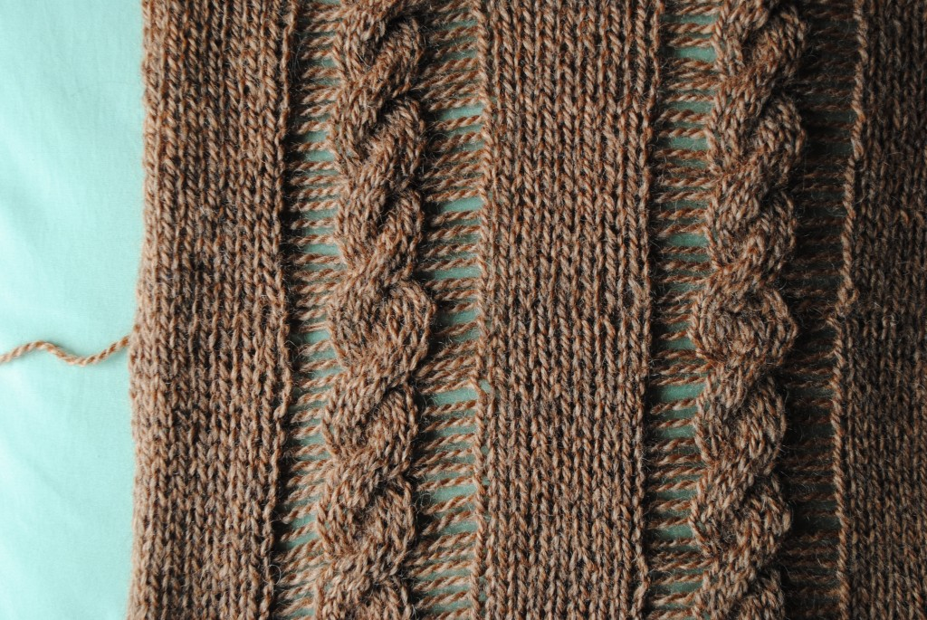 Grafting a Drop Stitch Knitting Pattern - Interweave