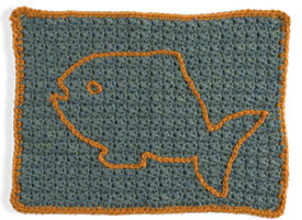 Use your crocheting skills to make this pet bed with our exclusive eBook on crochet for charity patterns.
