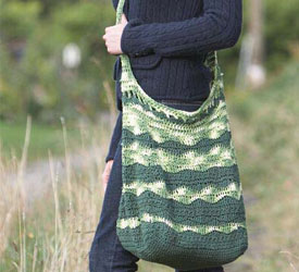 Free Crochet Patterns for Beautiful Handmade Gifts, such as this crochet market bag pattern.