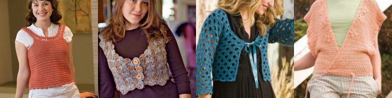 Four Fabulous Free Crochet Tops