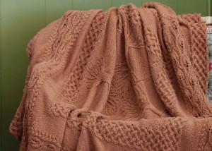 Learn how to knit this counterpane knit afghan pattern found in our FREE eBook on projects for knitting blankets and afghans.