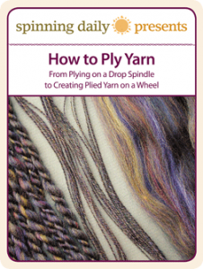 The How to Ply Yarn free eBook gives tips from plying on a drop spindle to creating plied yarn on a wheel.