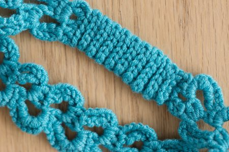 Rampant Arch Headband Detail