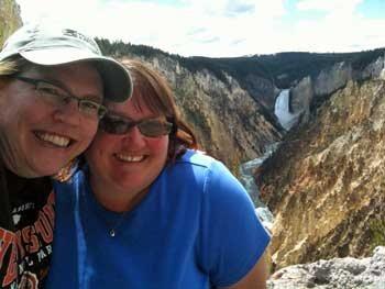 Kathleen at Yellowstone