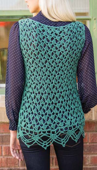 Colorful Crochet Lace: Crochet Lace Top