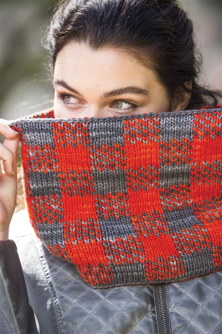 trapper cowl knitted cowl pattern